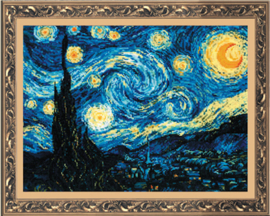 De Sterrennacht / Starry Night Vincent van Gogh Aida Riolis Telpakket