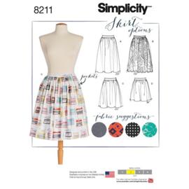 8211 D5 Simplicity Rok met Variatie (30-38)