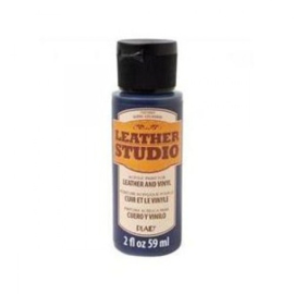 Marine Blauw Leather Studio Paint 59 ml