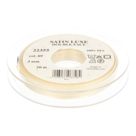 09 3mm Lint Satin Luxe Double face p.m.