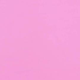 21 Roze Tissu de Marie uni stof 150cm breed