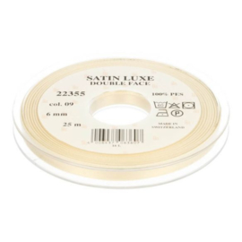 09 6mm Lint Satin Luxe Double face p.m.