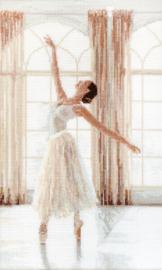 Ballerina Aida Borduurpakket 906 LetiStitch