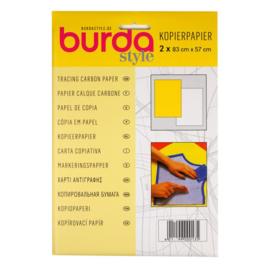 Burda kopieerpapier geel/wit