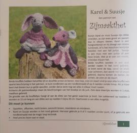 Karel & Suusje patroonboekje