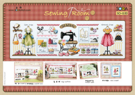 Sewing Room Evenweave Soda Stitch Telpakket