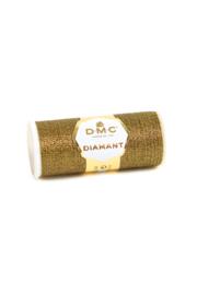 D140  Zwart Met Goud DMC Diamant