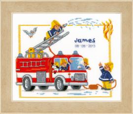 Bij de Brandweer Aida Vervaco Telpakket