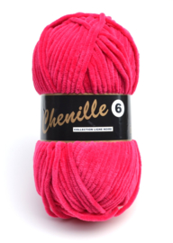 020 Shocking Pink Chenille 6 Lammy Yarns