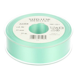 86 25mm Lint Satin Luxe Double face p.m.