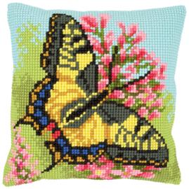 Vlinder Kruissteekkussen Vervaco