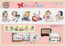 Pin Up Girl Aida telpakket Soda Stitch