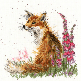 Amongst The Foxgloves Aida Wrendale Designs by Hannah Dale Bothy Threads XHD8