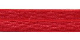 Rood 20mm Elastisch Biaisband