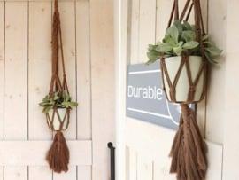 Plantenhanger met Veer Durable Rope