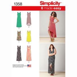 1358 A Simplicity maat XXS - XXL