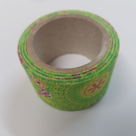 Groene Flower Power 2mx30mm Pimptape Oaki Doki