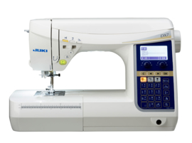 Juki HZL-DX7 zeer Krachtige Naaimachine voor alle Soorten Stoffen , Quilten, helemaal compleet