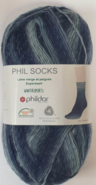 WS Blue Mountain Phil Socks Phildar