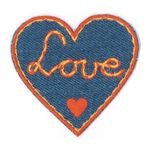 88v10 Love Heart ReStyle Applique Patch