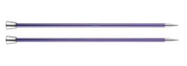 7.0mm Zing 40cm Breinaalden met Knop KnitPro