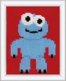 Blauw Monsterke Spansteek Vervaco