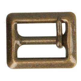 Gesp Oud goud 2cm