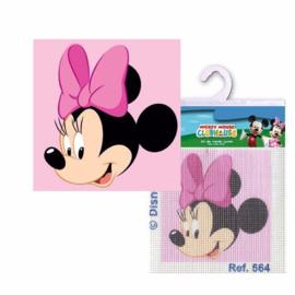 Minnie Mouse borduurpakket voorbedrukt stramien