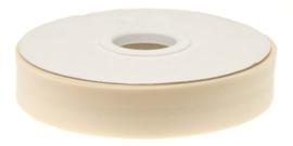 Creme Gevouwen Biasband 20mm p.m.