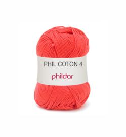 84 Phil Coton 4 Rouge