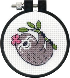 Sloth telpakket met borduurring - Dimensions