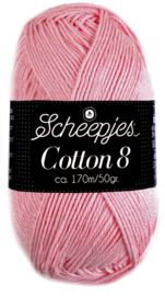 654 Cotton 8 Scheepjes