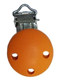 Houten Speenclip Oranje