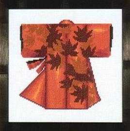 Kimono Red Telpakket Aida Lanarte