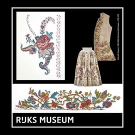 Rijks Museum Skirt with Flowers ca.1700-1800/ Wastcoat with flowers ca. 1730-1739  eavenwave - Thea Gouveneur
