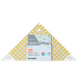 611314 Driehoek voor 1-2 kwadraad tot 15cm Omnigrid Prym