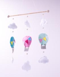 Luchtballonnen Mobiel Viltpakket Phildar