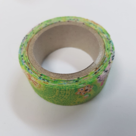 Groene Flower Power 2mx20mm Pimptape Oaki Doki