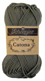 387 Scheepjes Catona 25 Dark Olive