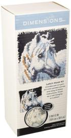 White Horse Knoopkussen - Dimensions