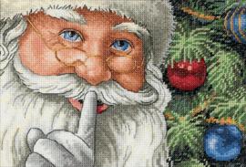 Santa's Secret Aida telpakket Dimensions