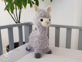 Alpaca Almina Gehaakt Durable Cosy Fine en Furry