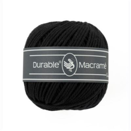 Durable Macramé 325 Zwart