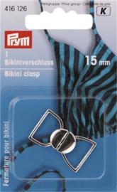 Zilveren Bikinisluiting 15mm Prym