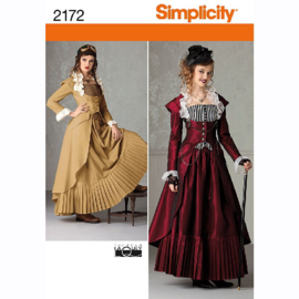 Steampunk stijl Simplicity