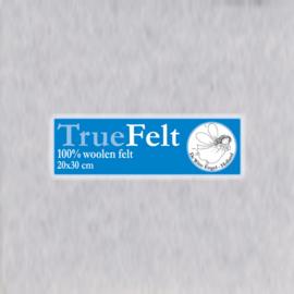 Heel Licht Blauw 20 x 30cm TrueFelt