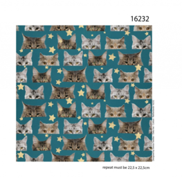Poesje Mauw Jersey 150cm breed Stenzo