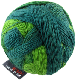 Evergreen 2168 Lace Ball 100 Zauberball Schoppel