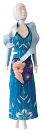 Mary Crystal Frozen Dress Your Doll
