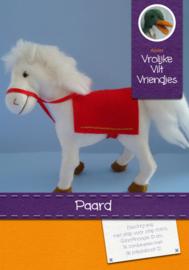 Paard Vilt  Pakket Vrolijke Vilt Vriendjes